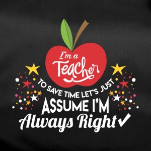 TEACHER SCHOOL: I'M A TEACHER GIFT - Duffel Bag