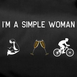 I am a simple woman - Muscles champagne - Duffel Bag
