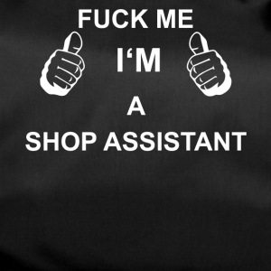 TRUST FUCK ME IN THE SHOP ASSISTANT - Duffel Bag