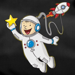 Little cartoon astronaut - Sporttas