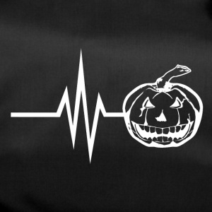 My heart beats for halloween horror pumpkin - Duffel Bag