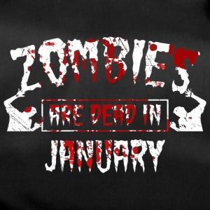 Zombies are dead in january - Birthday Birthday - Duffel Bag