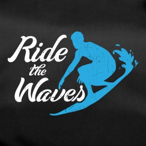 Ride the waves - Duffel Bag