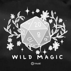 WILD MAGIC - WHITE - Duffel Bag