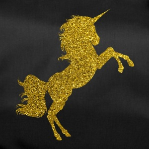 Golden Unicorn - Golden Unicorn Gold Glitter - Sporttas