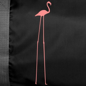 Flamingo with long legs - Duffel Bag