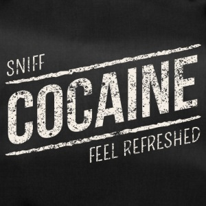 Sniff Cocaine - feel refreshed white - Sporttasche