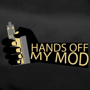 Hands Off - My Mod - Vaper Shirt - Sportstaske