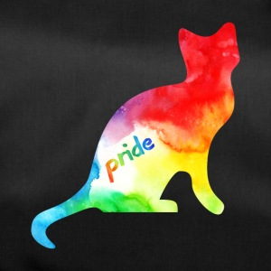 Rainbow Watercolour Pride Kitty - Duffel Bag