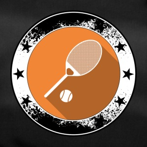 Tennis emblem icon Ballsport net sports game - Duffel Bag