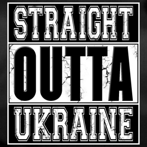 Straight Outta Ukraine 001 AllroundDesigns - Duffel Bag