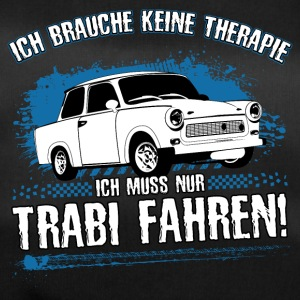 Trabi driving is my therapy! - Duffel Bag