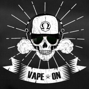 Vaping Skull vape on - steamer stoom motief - Sporttas