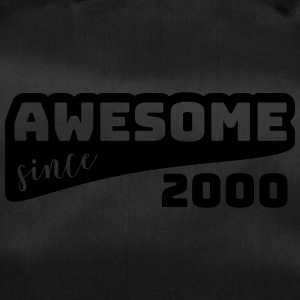 Awesome sinds 2000 / Birthday-shirt - Sporttas