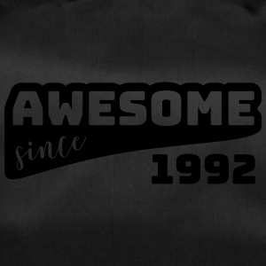 Awesome since 1992 / Birthday-Shirt - Sporttasche