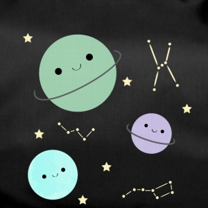 Kawaii planets - Duffel Bag