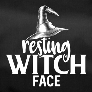 Resting Witch Face - Duffel Bag