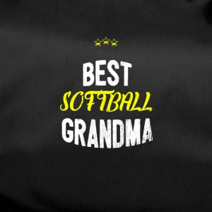 Distressed - BEST SOFTBALL GRANDMA - Duffel Bag