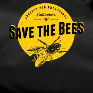 save the bees - Duffel Bag