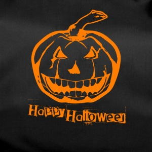 Happy Halloween grusel Kürbis creepy shirt - Sporttasche