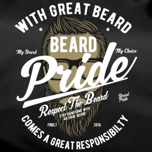 Beard Pride. With a great beard everything will be fine! - Duffel Bag