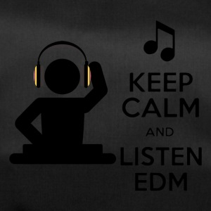 keep calm and listen edm - Duffel Bag