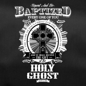 Christian-shirt Repent baptized - Duffel Bag