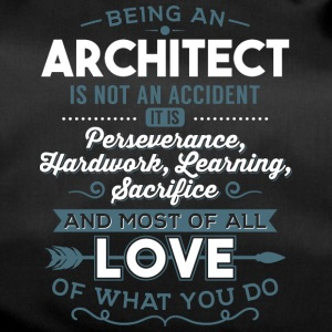 Love what you do - Architect - Sporttasche
