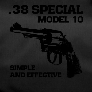 38 Special model 10 revolver fan t-shirt - Duffel Bag
