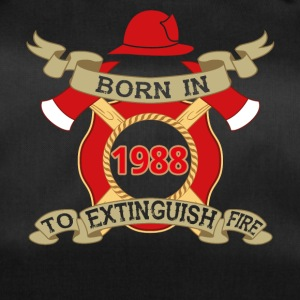 Born 1988 fire fire brigade - Duffel Bag