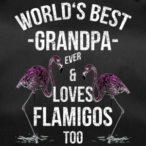 Grandpa Quotes> World's Best Grandpa & Loves Flam - Duffel Bag