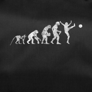 Evolution football shirt gift kick kicker - Duffel Bag
