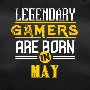 Legendary Gamers are born in May - Duffel Bag