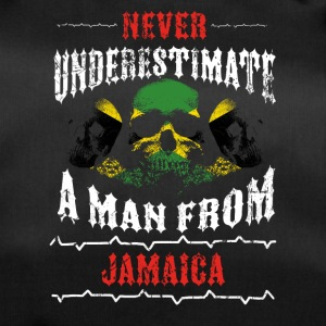 never underestimate man JAMAICA - Duffel Bag