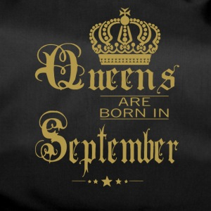 Queens are born in September - Duffel Bag