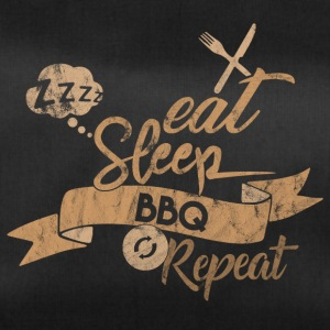 EAT SLEEP BBQ REPEAT - Sac de sport