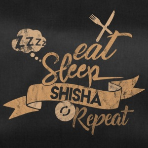 EAT SLEEP SHISHA REPEAT - Sporttasche