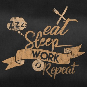 EAT SLEEP REPETITION DE TRAVAIL - Sac de sport