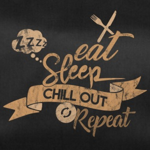 EAT SLEEP CHILL OUT REPEAT - Sporttasche