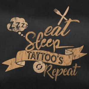 EAT SLEEP REPEAT TATTOOS - Sac de sport