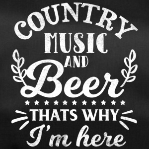 Country Music and Beer - Ecco perché sono qui - Borsa sportiva