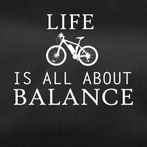 life all about balance fahrrad bycicle chain tour - Sporttasche