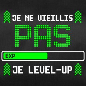 je ne vieillis pas je level-up - Sac de sport