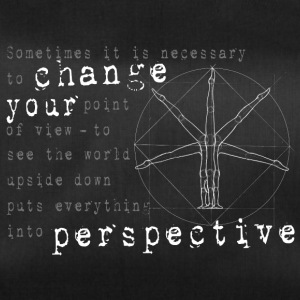 change your perspective - change the angle of view - Duffel Bag