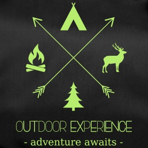 Outdoor Experience Adventure Awaits - Sporttasche