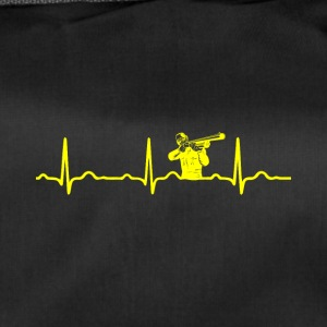 ECG HEARTBEAT HUNTER jaune - Sac de sport