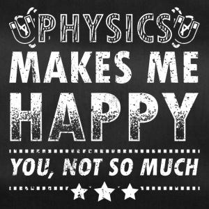 Funny Physics Physicist Shirt Makes Me Happy - Duffel Bag