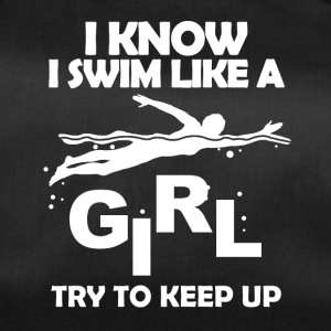 Swim like a girl - Duffel Bag