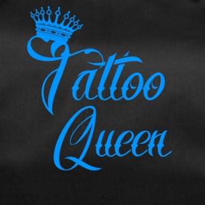 gift queen needle tattooed tattoo ink - Duffel Bag