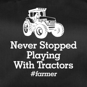 playinmg with tractors - Sporttasche